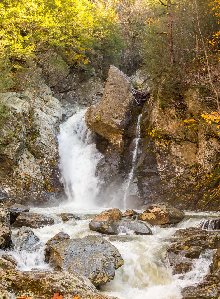 Bash Bish Waterfalls in Taconic State Park