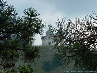 Widok na Svatý kopeček, Mikulov