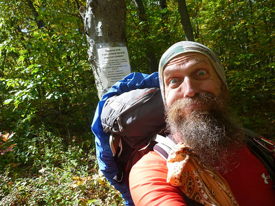 Radar finishes 3rd hike of the Appalachian Trail