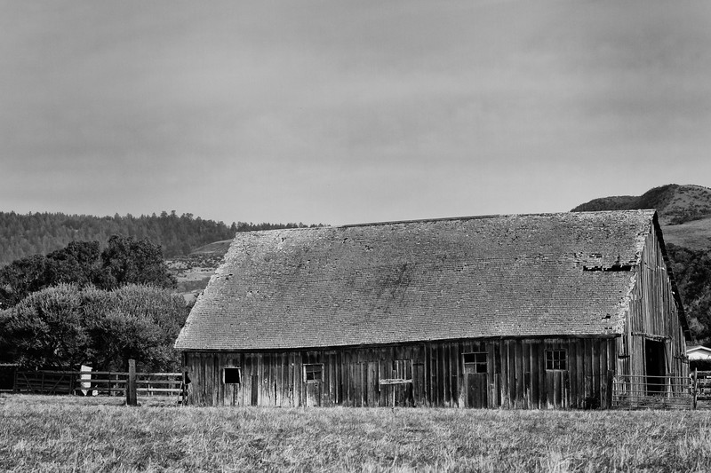 Just the barn