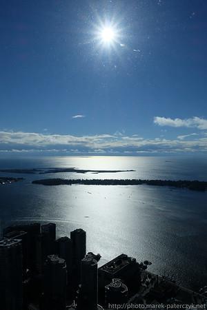 Widok na Toronto Islands
