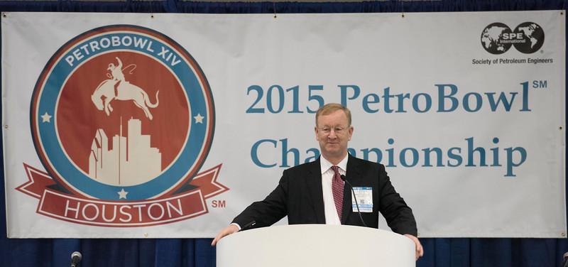 2016 SPE President Nathan Meehan Student PetroBowl