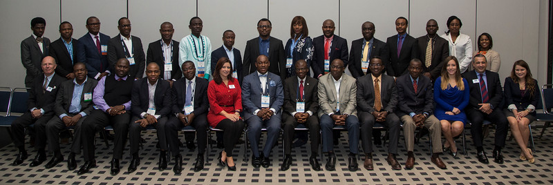 Attendees and staff African Regional Officer Meeting