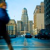 Downtown Buffalo Cityscape