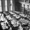 """Graduate School"", main reading room, Lockwood Library, University Archives, ca. 1950, call number: 20N:21(9)"
