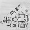 Plan view of proposal for South Campus, University Archives, 1950's, call number: 12:4 (7)