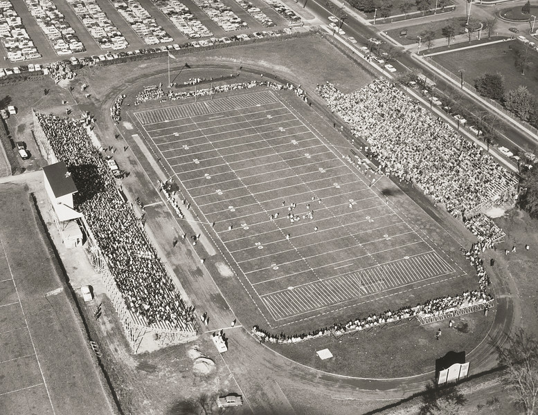 Rotary Field football game, 10_23_1958, 10/23/1958, University Archives, call number: 10:24