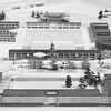 Proposal for South Campus - model, University Archives, 1956, call number: 12:4 (2)