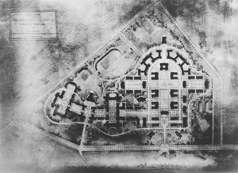 Proposed South Campus Development, University Archives, 07_29_1919, 07/29/1919, call number: 12:1 (1)