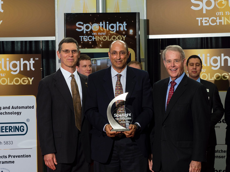 Attendees and awardees Spotlight on New Technology Presentation