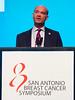 Andrew Tutt, MB ChB, MRCP, FRCR, PhD speaks during Mini Symposium 2
