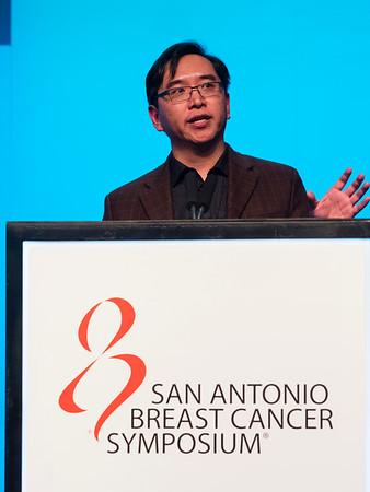 Lee Zou, PhD speaks during Mini Symposium 2