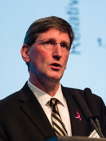 Fergus J. Couch, PhD recieves the AACR Outstanding Investigator Award for Breast Cancer Research, funded by Susan G. Komen® during General Session 5