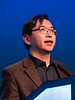 Lee Zou, PhD speaks during Mini Symposium 2