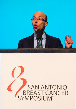 Mohamed Bentires-Alj, Pharm, PhD speaks during the Year in Review