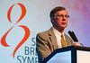 C Kent Osborne, MD speaks during the Year in Review
