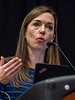 San Antonio, TX - SABCS 2016 San Antonio Breast Cancer Symposium - Sara A. Hurvitz, MD speaks during the press conference here today, Thursday December 8, 2016. during the San Antonio Breast Cancer Symposium being held at the Henry B. Gonzalez Convention Center in San Antonio, TX. Over 7,500 physicians, researchers, patient advocates and healthcare professionals from over 90 countries attended the meeting which features the latest research on breast cancer treatment and prevention. Photo by © MedMeetingImages/Todd Buchanan 2016  Technical Questions: todd@medmeetingimages.com