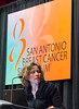 San Antonio, TX - SABCS 2016 San Antonio Breast Cancer Symposium - Sabine Linn, MD, PhD speaks during the press conference here today, Thursday December 8, 2016. during the San Antonio Breast Cancer Symposium being held at the Henry B. Gonzalez Convention Center in San Antonio, TX. Over 7,500 physicians, researchers, patient advocates and healthcare professionals from over 90 countries attended the meeting which features the latest research on breast cancer treatment and prevention. Photo by © MedMeetingImages/Todd Buchanan 2016  Technical Questions: todd@medmeetingimages.com