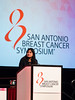 San Antonio, TX - SABCS 2016 San Antonio Breast Cancer Symposium - R Jagsi speaks during GENERAL SESSION 3 here today, Thursday December 8, 2016. during the San Antonio Breast Cancer Symposium being held at the Henry B. Gonzalez Convention Center in San Antonio, TX. Over 7,500 physicians, researchers, patient advocates and healthcare professionals from over 90 countries attended the meeting which features the latest research on breast cancer treatment and prevention. Photo by © MedMeetingImages/Todd Buchanan 2016  Technical Questions: todd@medmeetingimages.com