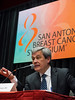 San Antonio, TX - SABCS 2016 San Antonio Breast Cancer Symposium - Carlos L. Arteaga, MD speaks during the press conference here today, Thursday December 8, 2016. during the San Antonio Breast Cancer Symposium being held at the Henry B. Gonzalez Convention Center in San Antonio, TX. Over 7,500 physicians, researchers, patient advocates and healthcare professionals from over 90 countries attended the meeting which features the latest research on breast cancer treatment and prevention. Photo by © MedMeetingImages/Todd Buchanan 2016  Technical Questions: todd@medmeetingimages.com