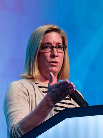 Leisha Ann Emens, MD, PhD speaks during MINI-SYMPOSIUM 1