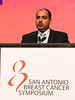 San Antonio, TX - SABCS 2016 San Antonio Breast Cancer Symposium - MF Rimawi speaks during GENERAL SESSION 3 here today, Thursday December 8, 2016. during the San Antonio Breast Cancer Symposium being held at the Henry B. Gonzalez Convention Center in San Antonio, TX. Over 7,500 physicians, researchers, patient advocates and healthcare professionals from over 90 countries attended the meeting which features the latest research on breast cancer treatment and prevention. Photo by © MedMeetingImages/Todd Buchanan 2016  Technical Questions: todd@medmeetingimages.com
