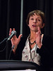 San Antonio, TX - SABCS 2016 San Antonio Breast Cancer Symposium - Clare M. Isacke, PhD speaks during the EDUCATIONAL SESSION: The Tumor Ecosystem here today, Tuesday December 6, 2016. during the San Antonio Breast Cancer Symposium being held at the Henry B. Gonzalez Convention Center in San Antonio, TX. Over 7,500 physicians, researchers, patient advocates and healthcare professionals from over 90 countries attended the meeting which features the latest research on breast cancer treatment and prevention. Photo by © MedMeetingImages/Todd Buchanan 2016  Technical Questions: todd@medmeetingimages.com