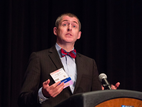 San Antonio, TX - SABCS 2016 San Antonio Breast Cancer Symposium - Benjamin D. Smith, MD speaks during the EDUCATIONAL SESSION: Imaging and Local Issues in Neoadjuvant Therapy here today, Tuesday December 6, 2016. during the San Antonio Breast Cancer Symposium being held at the Henry B. Gonzalez Convention Center in San Antonio, TX. Over 7,500 physicians, researchers, patient advocates and healthcare professionals from over 90 countries attended the meeting which features the latest research on breast cancer treatment and prevention. Photo by © MedMeetingImages/Todd Buchanan 2016  Technical Questions: todd@medmeetingimages.com