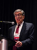 San Antonio, TX - SABCS 2016 San Antonio Breast Cancer Symposium - Luca Gianni, MD speaks during the EDUCATIONAL SESSION: HER2+ Breast Cancer here today, Tuesday December 6, 2016. during the San Antonio Breast Cancer Symposium being held at the Henry B. Gonzalez Convention Center in San Antonio, TX. Over 7,500 physicians, researchers, patient advocates and healthcare professionals from over 90 countries attended the meeting which features the latest research on breast cancer treatment and prevention. Photo by © MedMeetingImages/Todd Buchanan 2016  Technical Questions: todd@medmeetingimages.com