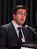 San Antonio, TX - SABCS 2016 San Antonio Breast Cancer Symposium - Carsten Denkert, MD speaks during the EDUCATIONAL SESSION: Cancer Immunology 101 here today, Tuesday December 6, 2016. during the San Antonio Breast Cancer Symposium being held at the Henry B. Gonzalez Convention Center in San Antonio, TX. Over 7,500 physicians, researchers, patient advocates and healthcare professionals from over 90 countries attended the meeting which features the latest research on breast cancer treatment and prevention. Photo by © MedMeetingImages/Todd Buchanan 2016  Technical Questions: todd@medmeetingimages.com