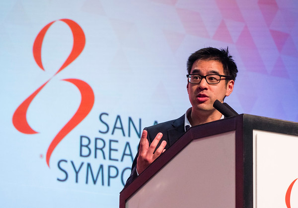San Antonio, TX - SABCS 2016 San Antonio Breast Cancer Symposium - S Luen speaks during the GENERAL SESSION 1 here today, Wednesday December 7, 2016. during the San Antonio Breast Cancer Symposium being held at the Henry B. Gonzalez Convention Center in San Antonio, TX. Over 7,500 physicians, researchers, patient advocates and healthcare professionals from over 90 countries attended the meeting which features the latest research on breast cancer treatment and prevention. Photo by © MedMeetingImages/Todd Buchanan 2016  Technical Questions: todd@medmeetingimages.com