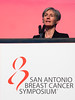San Antonio, TX - SABCS 2016 San Antonio Breast Cancer Symposium - Diane Eccles speaks during General Session II here today, Wednesday December 7, 2016. during the San Antonio Breast Cancer Symposium being held at the Henry B. Gonzalez Convention Center in San Antonio, TX. Over 7,500 physicians, researchers, patient advocates and healthcare professionals from over 90 countries attended the meeting which features the latest research on breast cancer treatment and prevention. Photo by © MedMeetingImages/Todd Buchanan 2016  Technical Questions: todd@medmeetingimages.com