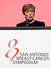 San Antonio, TX - SABCS 2016 San Antonio Breast Cancer Symposium - Monica Morrow, MD gives the SUSAN G. KOMEN® BRINKER AWARD FOR SCIENTIFIC DISTINCTION IN CLINICAL RESEARCH  here today, Wednesday December 7, 2016. during the San Antonio Breast Cancer Symposium being held at the Henry B. Gonzalez Convention Center in San Antonio, TX. Over 7,500 physicians, researchers, patient advocates and healthcare professionals from over 90 countries attended the meeting which features the latest research on breast cancer treatment and prevention. Photo by © MedMeetingImages/Todd Buchanan 2016  Technical Questions: todd@medmeetingimages.com