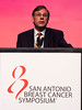 San Antonio, TX - SABCS 2016 San Antonio Breast Cancer Symposium - E.P. Mamounas during the GENERAL SESSION 1 here today, Wednesday December 7, 2016. during the San Antonio Breast Cancer Symposium being held at the Henry B. Gonzalez Convention Center in San Antonio, TX. Over 7,500 physicians, researchers, patient advocates and healthcare professionals from over 90 countries attended the meeting which features the latest research on breast cancer treatment and prevention. Photo by © MedMeetingImages/Todd Buchanan 2016  Technical Questions: todd@medmeetingimages.com