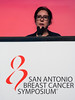San Antonio, TX - SABCS 2016 San Antonio Breast Cancer Symposium - VC Tjan-Heijnen speaks during the GENERAL SESSION 1 here today, Wednesday December 7, 2016. during the San Antonio Breast Cancer Symposium being held at the Henry B. Gonzalez Convention Center in San Antonio, TX. Over 7,500 physicians, researchers, patient advocates and healthcare professionals from over 90 countries attended the meeting which features the latest research on breast cancer treatment and prevention. Photo by © MedMeetingImages/Todd Buchanan 2016  Technical Questions: todd@medmeetingimages.com