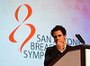 San Antonio, TX - SABCS 2016 San Antonio Breast Cancer Symposium - Ofir Cohen, PhD speaks during the GENERAL SESSION 1 here today, Wednesday December 7, 2016. during the San Antonio Breast Cancer Symposium being held at the Henry B. Gonzalez Convention Center in San Antonio, TX. Over 7,500 physicians, researchers, patient advocates and healthcare professionals from over 90 countries attended the meeting which features the latest research on breast cancer treatment and prevention. Photo by © MedMeetingImages/Todd Buchanan 2016  Technical Questions: todd@medmeetingimages.com