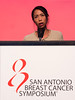 San Antonio, TX - SABCS 2016 San Antonio Breast Cancer Symposium - S Loi speaks during the GENERAL SESSION 1 here today, Wednesday December 7, 2016. during the San Antonio Breast Cancer Symposium being held at the Henry B. Gonzalez Convention Center in San Antonio, TX. Over 7,500 physicians, researchers, patient advocates and healthcare professionals from over 90 countries attended the meeting which features the latest research on breast cancer treatment and prevention. Photo by © MedMeetingImages/Todd Buchanan 2016  Technical Questions: todd@medmeetingimages.com