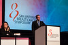 San Antonio, TX - SABCS 2016 San Antonio Breast Cancer Symposium - EJ Blok speaks during the GENERAL SESSION 1 here today, Wednesday December 7, 2016. during the San Antonio Breast Cancer Symposium being held at the Henry B. Gonzalez Convention Center in San Antonio, TX. Over 7,500 physicians, researchers, patient advocates and healthcare professionals from over 90 countries attended the meeting which features the latest research on breast cancer treatment and prevention. Photo by © MedMeetingImages/Todd Buchanan 2016  Technical Questions: todd@medmeetingimages.com