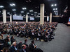 San Antonio, TX - SABCS 2016 San Antonio Breast Cancer Symposium - General Views  here today, Wednesday December 7, 2016. during the San Antonio Breast Cancer Symposium being held at the Henry B. Gonzalez Convention Center in San Antonio, TX. Over 7,500 physicians, researchers, patient advocates and healthcare professionals from over 90 countries attended the meeting which features the latest research on breast cancer treatment and prevention. Photo by © MedMeetingImages/Todd Buchanan 2016  Technical Questions: todd@medmeetingimages.com