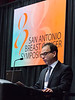 San Antonio, TX - SABCS 2016 San Antonio Breast Cancer Symposium - Noah S. Kornblum, MD speaks during the opening press conference here today, Wednesday December 7, 2016. during the San Antonio Breast Cancer Symposium being held at the Henry B. Gonzalez Convention Center in San Antonio, TX. Over 7,500 physicians, researchers, patient advocates and healthcare professionals from over 90 countries attended the meeting which features the latest research on breast cancer treatment and prevention. Photo by © MedMeetingImages/Todd Buchanan 2016  Technical Questions: todd@medmeetingimages.com