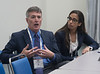 David C. Ring, M.D., and Sommer Hammound, M.D., during Roundtable - Prescription safety