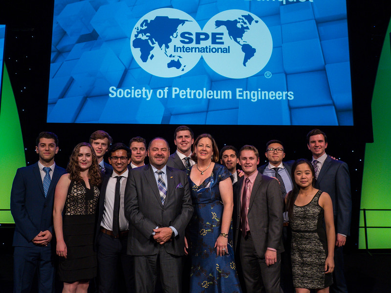 Awardees SPE Annual Awards Banquet