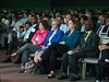 Speakers and attendees Opening General Session