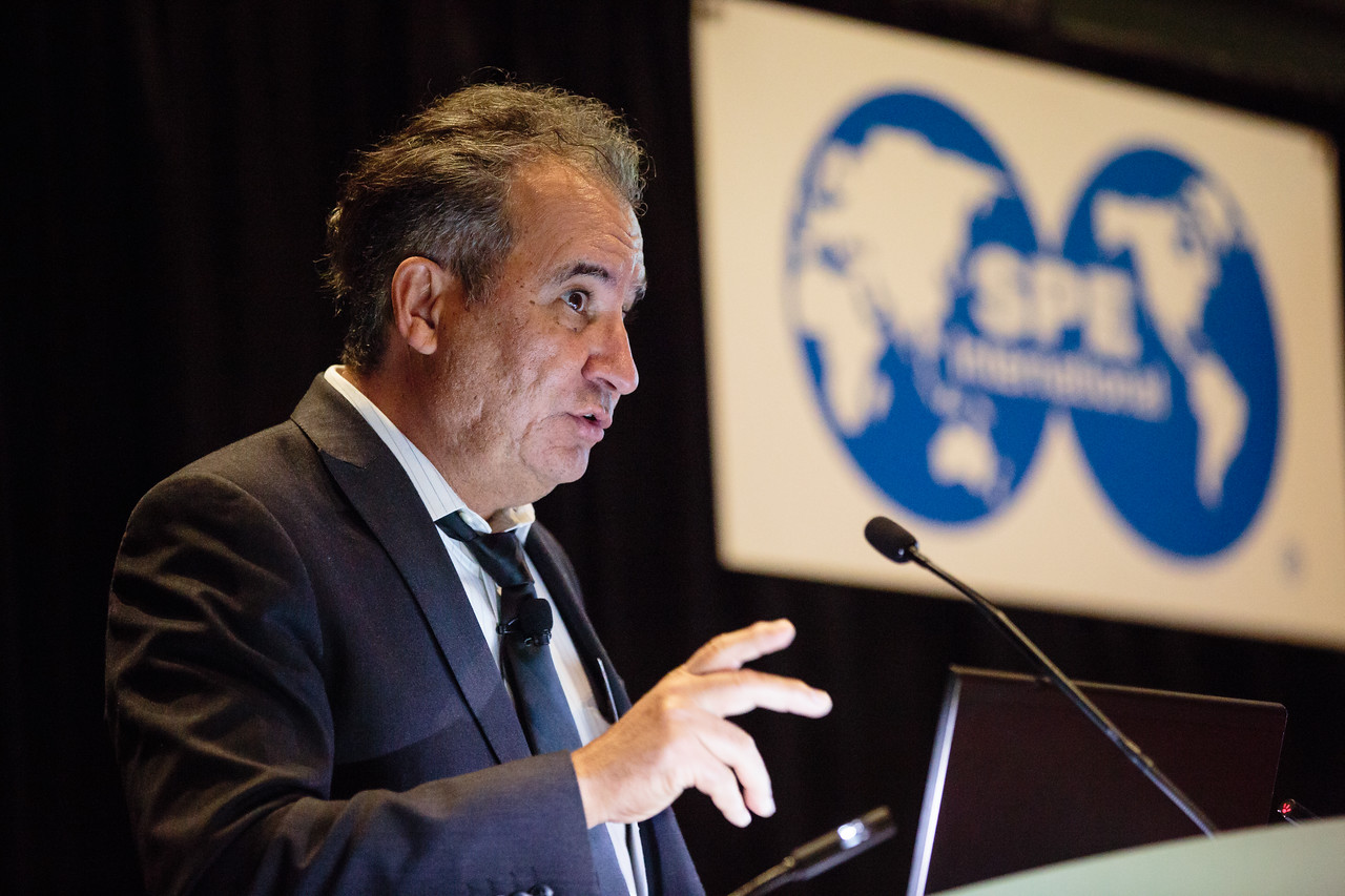 JC Cunha speaks SPE technical directors: State of the technical discipline technical session