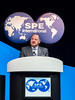 Darcy Spady, 2018 SPE President, speaks Student Awards Luncheon