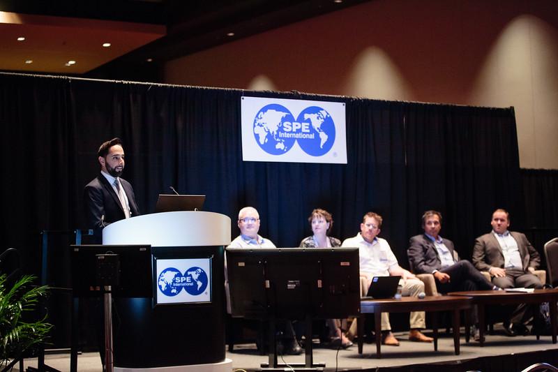 Ali Kashi speaks  Separations Technology technical session