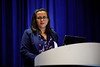 Veronica Coelho, Chief of Staff and Deputy Country Manager, Statoil Brazil, speaks during Afternoon Technical Sessions: Operators Offshore in Brazil: Under a Promising and Positive New Environment