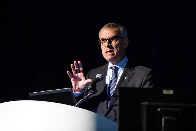Jorge Camargo, President, IBP speaks during Topical Breakfast: New Business Opportunities in Brazil