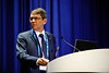 Paulo Carvalho, Executive Director, Pre-Sal Petroleo S.A., speaks during Afternoon Technical Sessions: Operators Offshore in Brazil: Under a Promising and Positive New Environment
