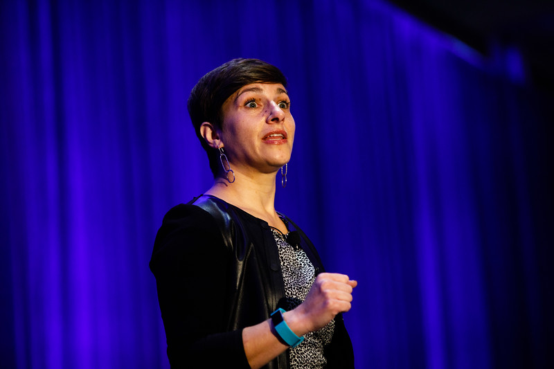 Keynote Speaker Yuliya Marcer speaks during The Next Wave: Building Tomorrow?s Leaders in Oil and Gas: Strategies and Ideas to Excel in the Present Day Climate